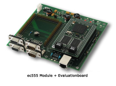 ec555, Module and Evulationboard